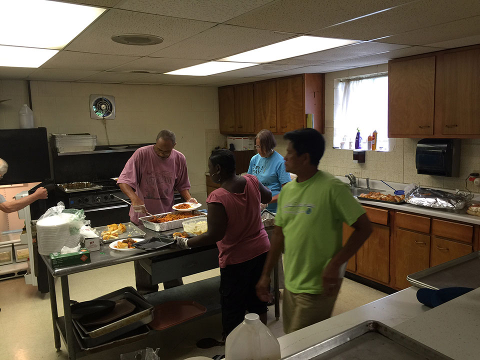 FHL Week 2016:  Soup Kitchen Clients Thank Volunteers