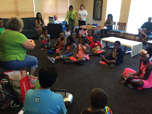 A Backpack Outreach for Children