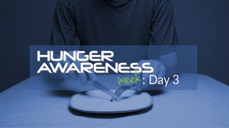 Hunger Challenge: Day Three – Eldon Kibbey