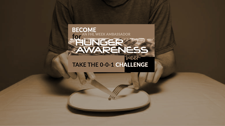 Hunger Challenge: Day Two – Eldon Kibbey